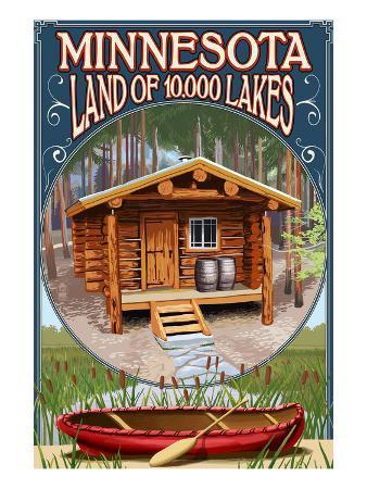Minnesota - Cabin and Lake