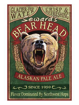 Seward, Alaska - Grizzly Ale