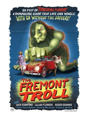 The Fremont Troll Movie Poster