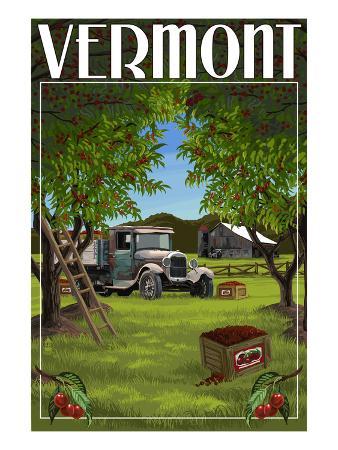 Vermont - Cherry Harvest