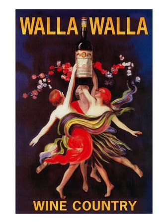 Women Dancing with Wine - Walla Walla, Washington