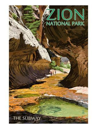 Zion National Park - The Subway