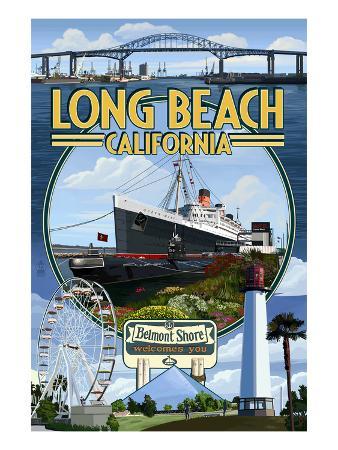 Long Beach, California - Montage