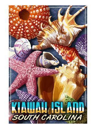 Kiawah Island, South Carolina - Shell Montage
