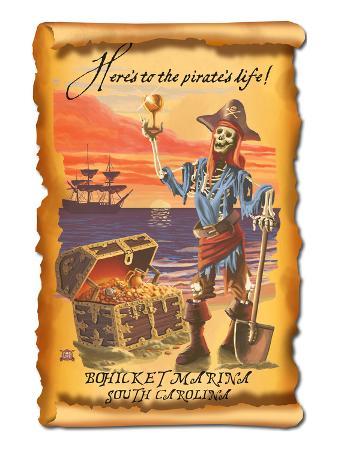 Bohicket Marina, South Carolina - Pirate Plunder