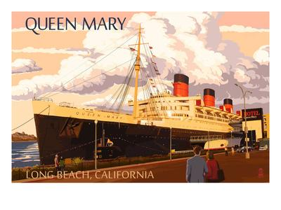 Long Beach, California - Queen Mary