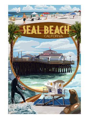 Seal Beach, California - Montage Scenes