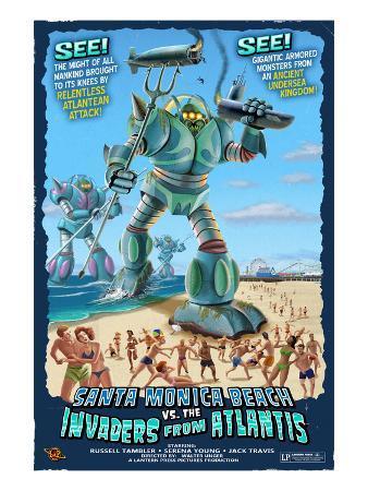 Santa Monica, California - Atlantean Invaders