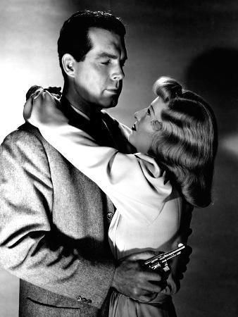 Double Indemnity, Fred MacMurray, Barbara Stanwyck, 1944