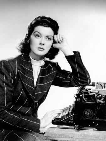 His Girl Friday, Rosalind Russell, 1940