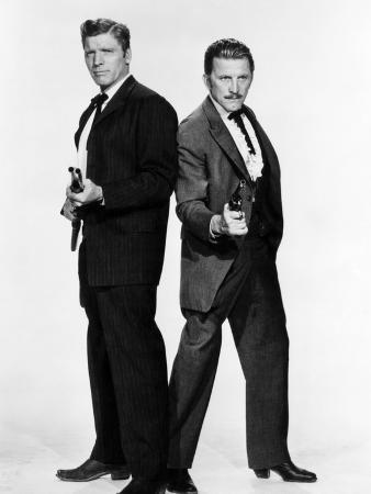 Gunfight at the O.K. Corral, Burt Lancaster, Kirk Douglas, 1957