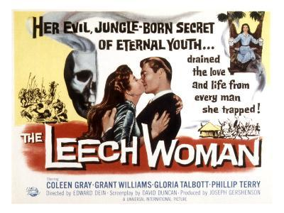 The Leech Woman, Coleen Gray, Grant Williams, 1960