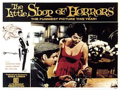 The Little Shop of Horrors, Jonathan Haze, Jackie Joseph, 1960