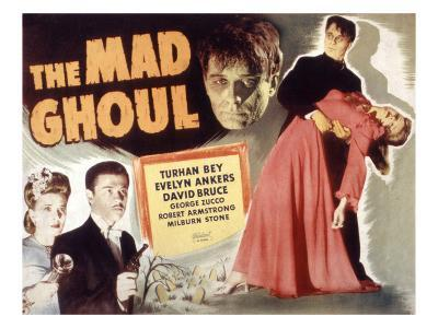 The Mad Ghoul, Evelyn Ankers, Turhan Bey, David Bruce, 1943