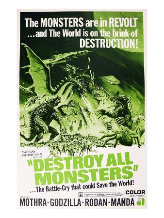Destroy All Monsters, (AKA 'Kaiju Soshingeki', the Original Japanese Title), 1968