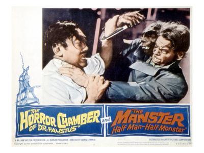 The Manster, Tetsu Nakamura, Peter Dyneley, 1962