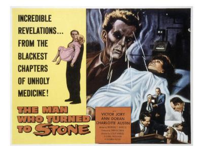 The Man Who Turned to Stone, Victor Jory, Ann Doran, Charlotte Austin, William Hudson, 1957