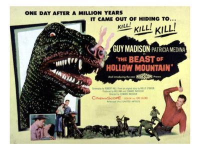 Beast of Hollow Mountain, 1956