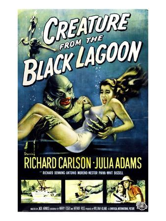 Creature from the Black Lagoon, Ben Chapman, Ricou Browning, 1954