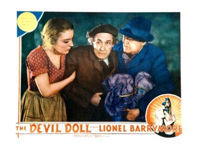 The Devil Doll, Grace Ford, Henry B. Walthall, Lionel Barrymore, 1936