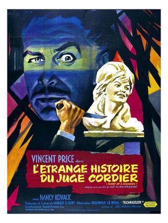 Diary of A Madman, (aka L'Etrange Histoire Du Juge Cordier), 1963