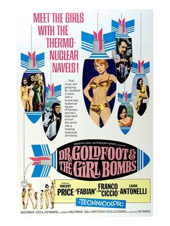 Dr. Goldfoot And the Girl Bombs, 1966