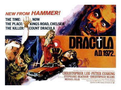 Dracula A.D. 1972, Stephanie Beacham, Stephanie Beacham, Caroline Munro, Christopher Lee, 1972