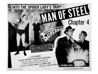 Superman, (Serial), Kirk Alyn, Chapter 4, 'Man of Steel', 1948