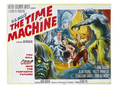 The Time Machine, Yvette Mimieux, Rod Taylor, 1960