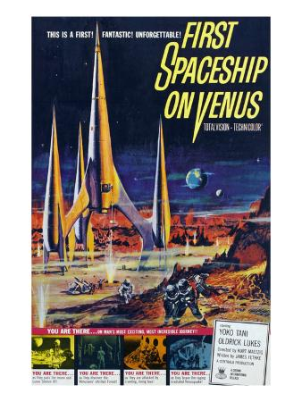 First Spaceship On Venus, 1962