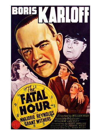 The Fatal Hour, 1940