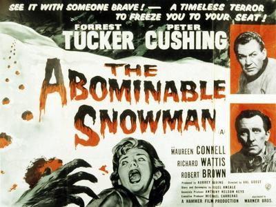 The Abominable Snowman, (AKA the Abominable Snowman of the Himalayas), 1957