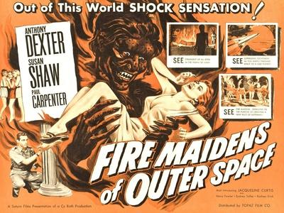 Fire Maidens of Outer Space, Anthony Dexter, 1956