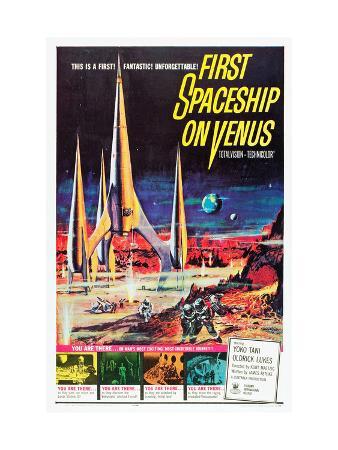 First Spaceship On Venus (AKA Der Schweigende Stern), 1960