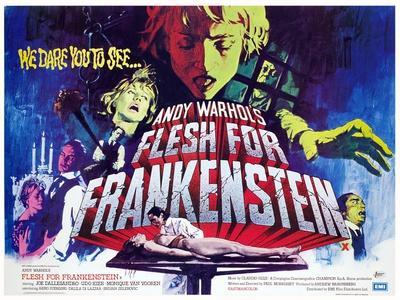 Flesh For Frankenstein, Monique Van Vooren, Joe Dallesandro, Udo Kier, Dalila Di Lazzaro, 1973