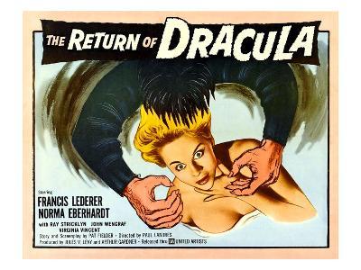 The Return of Dracula, Francis Lederer, Norma Eberhardt, 1958