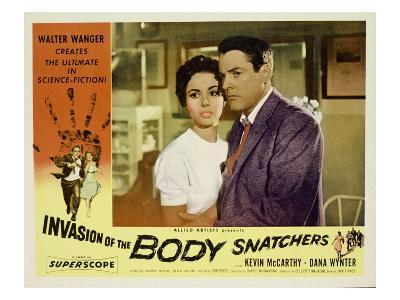 Invasion of the Body Snatchers, From Left, Dana Wynter, Kevin McCarthy, (Also Inset, Left), 1956