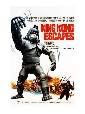 King Kong Escapes, (AKA Kingukongu No Gyakushu), 1967