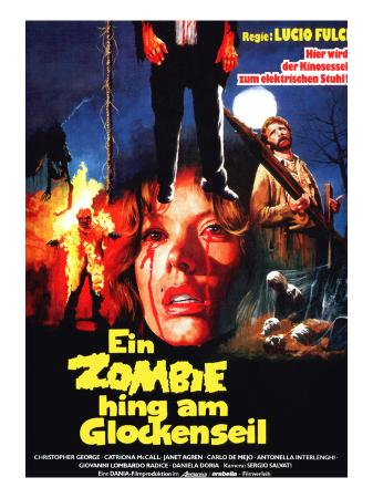 The Gates of Hell, (aka Ein Zombie Hing Am Glockenseil), 1980