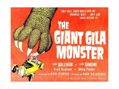 The Giant Gila Monster, 1959