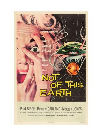 Not of This Earth, Beverly Garland, 1957