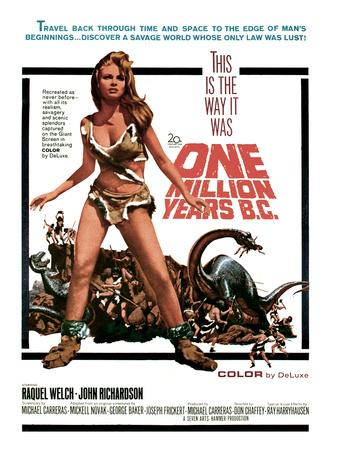 One Million Years, B.C., Raquel Welch, 1966