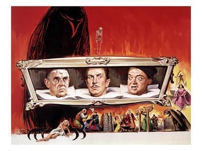 The Raven, Boris Karloff, Vincent Price, Peter Lorre, 1963