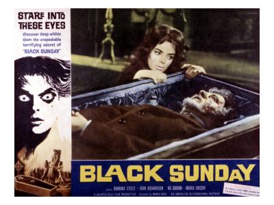 Black Sunday, Barbara Steele, 1961