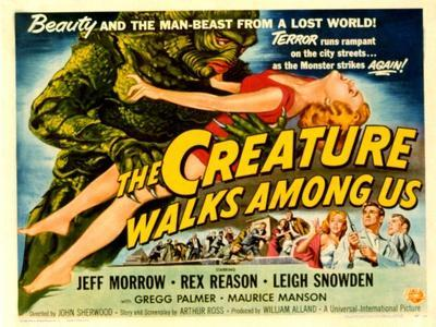 Creature Walks Among Us, The, Leigh Snowden, Jeff Morrow, Rex Reason, 1956