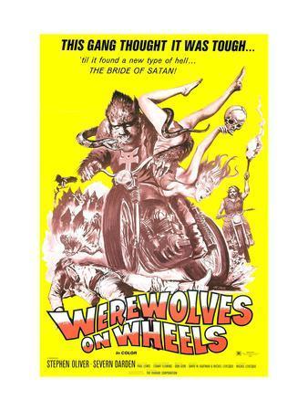 Werewolves On Wheels, 1971