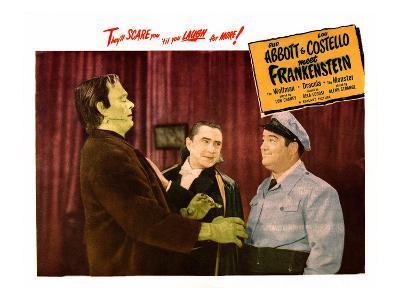 Abbott And Costello Meet Frankenstein, From Left: Glenn Strange, Bela Lugosi, Lou Costello, 1948
