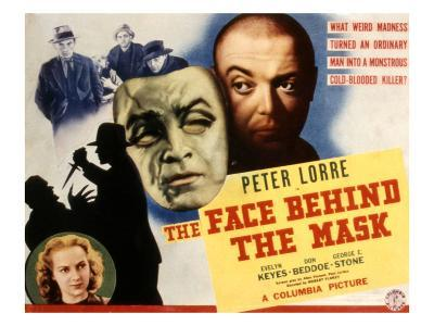 The Face Behind the Mask, Peter Lorre, Evelyn Keyes, 1941