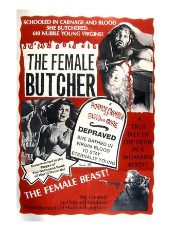 The Female Butcher, 1973