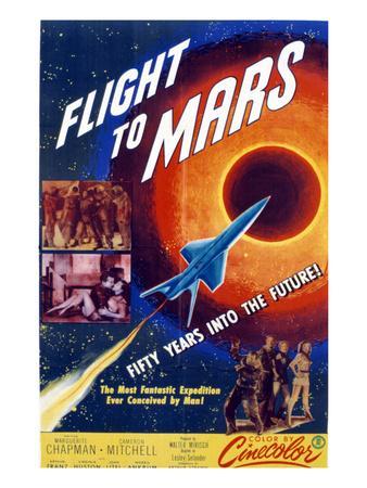 Flight to Mars, 1951